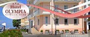 Ingresso Hotel Olympia a Gabicce