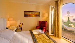 Dettaglio su camere dell'Hotel De Londres