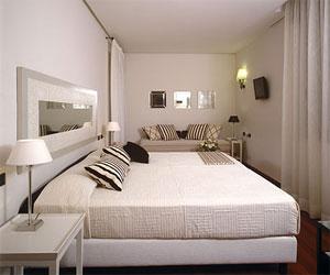 Dettaglio su camera Hotel Mastino a Verona