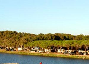 Panorama sul Camping Calik
