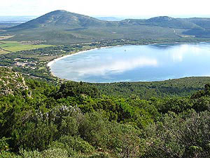 Panoramica sul Parco naturale Porto Conte