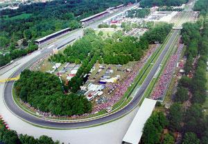 Panoramica sull'Autodromo di Monza