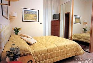 dettaglio su camera dell'Hotel Principe