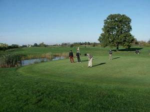 Dettaglio sul campo del Golf Club I Fiordalisi