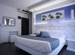 Dettaglio su suite dell'Hotel Ambassador a Riccione