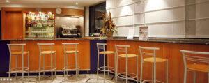 Bar dell'Express Hotel ad Aosta