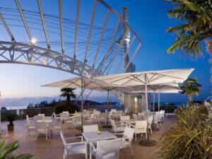 Terrazza del Du Parc Hotel a Gabicce