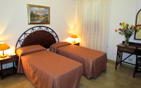 Camere dell'Hotel Alba d'Amore a Lampedusa