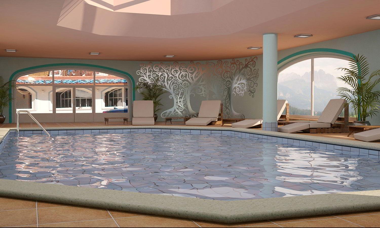 Albrghi con piscina trentino hotel con centro benessere e - Hotel valle aurina con piscina ...
